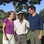 Visiting in Kenya